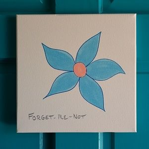 Forget-Me-Not Art